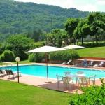 Ferienhaus Toskana TOH445 - Sitzgelegenheiten am Pool