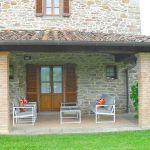 Ferienhaus Toskana TOH445 Terrasse mit Gartenmöbel