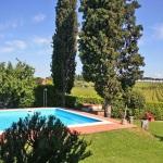 Ferienhaus Toskana TOH465 - Garten mit Pool