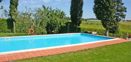 Ferienhaus Toskana Montepulciano 465 mit großem Pool für 10 Personen, Wohnfläche 175qm. Wechseltag flexibel auf Anfrage – Mindestmietzeit 1 Woche.