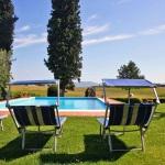 Ferienhaus Toskana TOH465 - Sonnenliegen am Pool