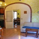 Ferienhaus Toskana TOH465 - Wohnraum