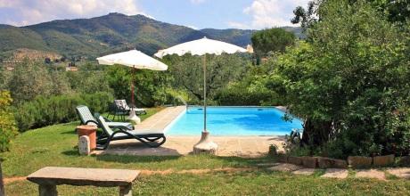 Ferienhaus Toskana Castiglion Fiorentino 475 mit Tennisplatz und Pool, Wohnfläche 100qm. Wechseltag Samstag, Nebensaison flexibel auf Anfrage – Mindestmietzeit 1 Woche.