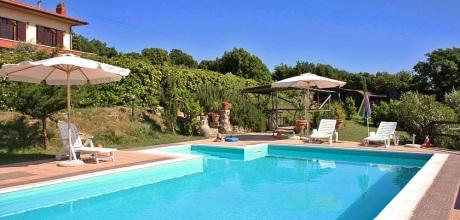 Ferienhaus Toskana Rosignano Marittimo 490 mit Pool in Strandnähe (5km), Wohnfläche 220qm. Wechseltag Samstag.