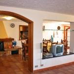 Ferienhaus Toskana TOH490 - Wohnzimmer mit Kamin