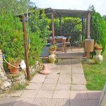 Ferienhaus Toskana am Meer TOH490 überdachte Terrasse