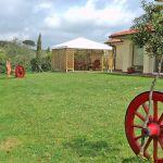 Ferienhaus Toskana am Meer TOH490 Garten mit Rasen
