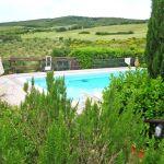 Ferienhaus Toskana am Meer TOH490 Pool im Garten