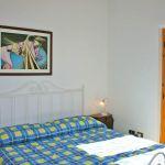Ferienhaus Toskana am Meer TOH490 Schalfzimmer mit Doppelbett