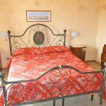 Ferienhaus Toskana am Meer TOH490 Schlafraum mit Doppelbett