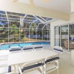 Villa Florida FVE45867 überdachte Terrasse am Pool