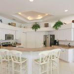 Villa Florida FVE45867 Küchentheke mit Stühlen