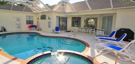 Deluxe – Villa Manasota Beach 45867 mit beheizbarem Pool und Whirlpool in Strandnähe (ca. 2km), Grundstück 3.000qm, Wohnfläche 250qm. Wechseltag flexibel.