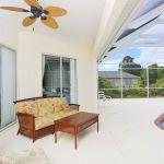 Ferienhaus Florida FVE41712 überdachte Terrasse mit Gartenmöbel