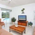 Ferienhaus Florida FVE41712 Wohnbereich mit TV