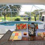 Ferienhaus Florida FVE4221 Blick auf den Pool