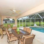 Ferienhaus Florida FVE4221 Gartenmöbel am Pool