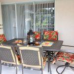 Ferienhaus Florida FVE4221 Gartentisch mit Stühlen