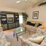 Ferienhaus Florida FVE4221 Wohnraum mit TV