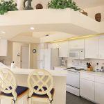 Ferienhaus Florida FVE42435 Küchentheke mit Stühlen