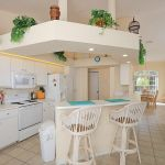 Ferienhaus Florida FVE42465 Küchentheke mit Stühlen