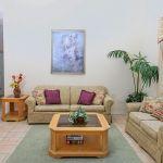 Ferienhaus Florida FVE42647 Wohnraum mit Couchgarnitur
