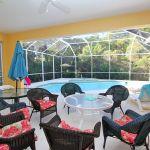 Ferienhaus Florida FVE42660 überdachte Terrasse mit Gartenmöbel