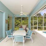 Ferienhaus Florida FVE42665 überdachte Terrasse mit Gartenmöbel