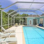 Ferienhaus Florida FVE42665 Poolterrasse mit Liegen
