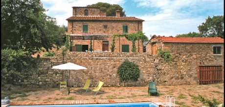 Ferienhaus Toskana Arezzo 310 mit Panoramablick und Pool, Wohnfläche 150qm. Wechseltag Samstag, Nebensaison flexibel auf Anfrage.