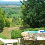 Ferienhaus Toskana TOH310 - Blick übers Tal