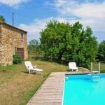 Ferienhaus Toskana TOH310 - Schwimmbecken mit Treppe