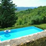 Ferienhaus Toskana TOH310 - Weitblick vom Swimmingpool