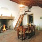 Ferienhaus Toskana TOH310 - Wohnbereich mit Kamin