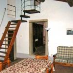 Ferienhaus Toskana TOH310 - Wohnzimmer mit Esstisch