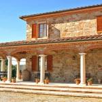 Ferienhaus Toskana TOH315 - überdachte Terrasse