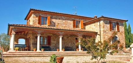 Ferienhaus Toskana Lucignano 315 mit Pool, Wohnfläche 160qm. Wechseltag Samstag, Nebensaison flexibel auf Anfrage.
