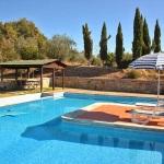 Ferienhaus Toskana TOH315 - Liegestühle am Pool