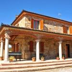 Ferienhaus Toskana TOH315 - Terrasse mit Kicker