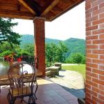 Ferienhaus Toskana TOH317 - überdachte Terrasse