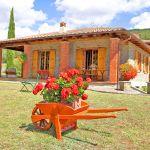 Ferienhaus Toskana TOH317 Garten mit Blumen