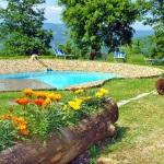Ferienhaus Toskana TOH317 - Garten mit Pool