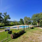Ferienhaus Toskana TOH317 Garten mit Pool