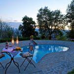 Ferienhaus Toskana TOH317 Gartenmöbel am Pool