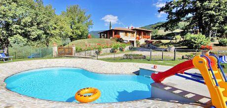 Ferienhaus Toskana Stia 317 mit Pool in schöner Lage, Wohnfläche 110qm. Wechseltag Samstag, Nebensaison flexibel