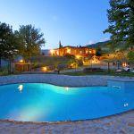 Ferienhaus Toskana TOH317 Pool beleuchtet