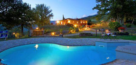 Ferienhaus Toskana Stia 317 mit Pool in schöner Lage, Wohnfläche 110qm. Wechseltag Samstag, Nebensaison flexibel.