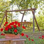 Ferienhaus Toskana TOH317 Schaukel im Garten