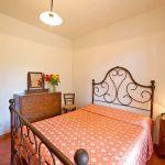 Ferienhaus Toskana TOH317 Schlafraum mit Doppelbett