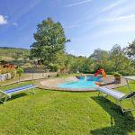 Ferienhaus Toskana TOH317 Sonnenliegen am Pool